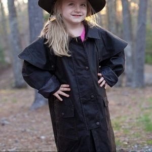 Outback Slicker Kids Duster Jacket Oilskin